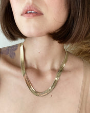 "Load image into Gallery viewer, HARRIET 20"" Herringbone Necklace"
