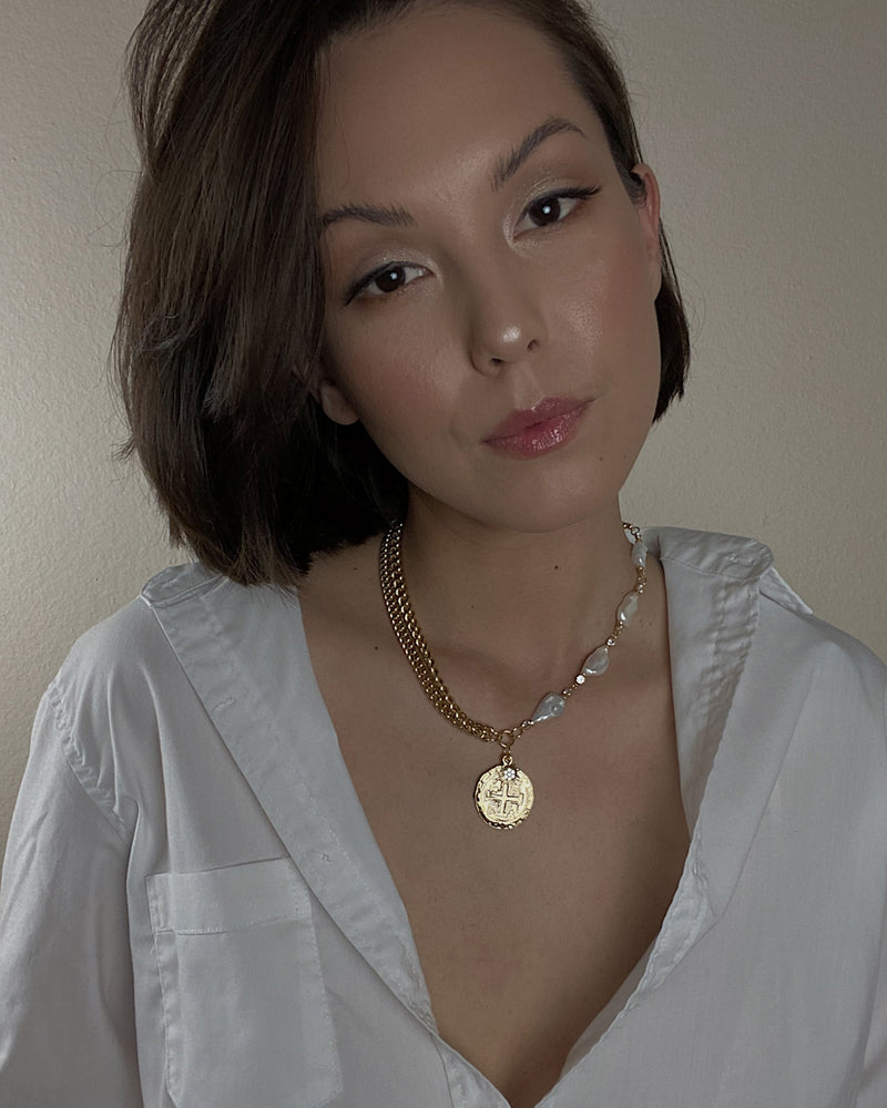 Karla Pearl Necklace
