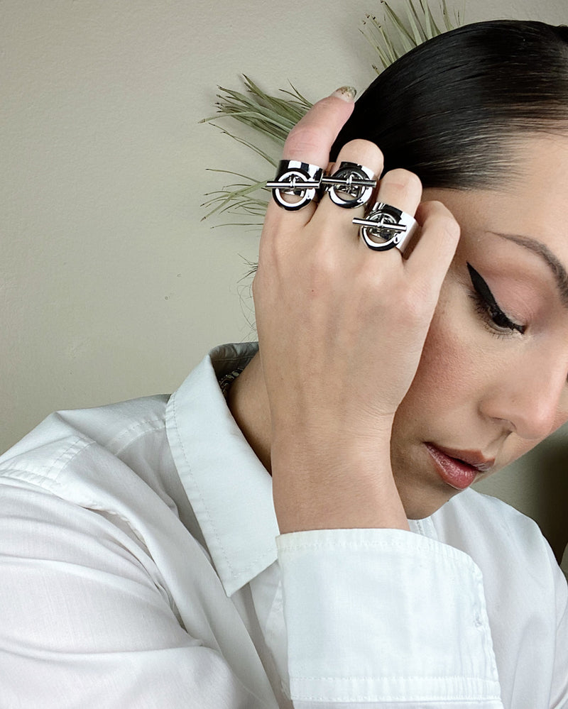 Lucia Ring Silver