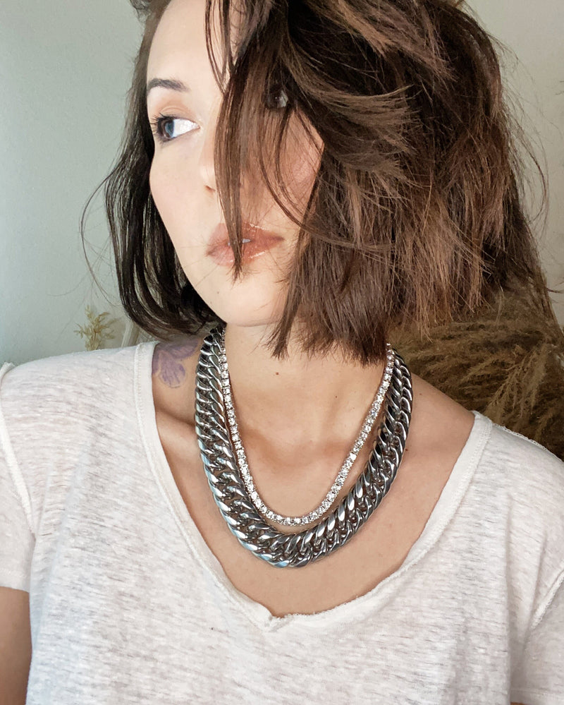 SAMANTHA Necklace - Silver
