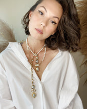Load image into Gallery viewer, SOPHIA Keshi Pearl Gold Chain