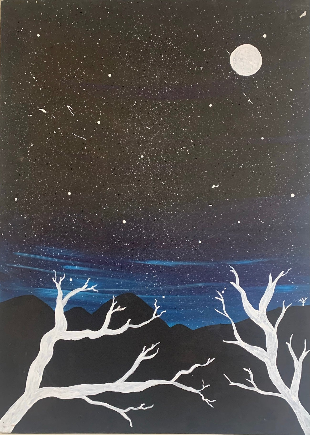 18-217 Wide Open Night Sky by Tahnayia Barnes