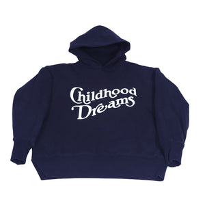 Childhood Dreams LA - Black with Purple Glow Hoodie