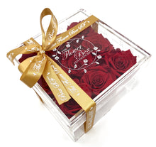 Load image into Gallery viewer, Crystal Flower Box - 9 Roses