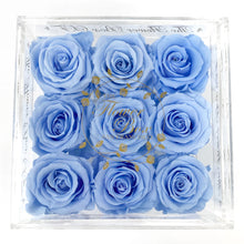 Load image into Gallery viewer, Crystal Flower Box with Drawer - No Handle