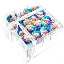 Load image into Gallery viewer, Crystal Flower Box - 16 Roses
