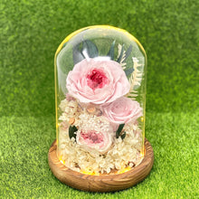 Load image into Gallery viewer, Eternal Pink Flower Dome