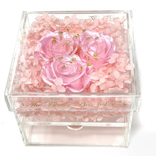 Load image into Gallery viewer, Princess Crystal Flower Box