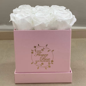 Pearl Pink Flower Box