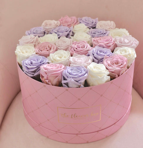 Round Logo Flower Box