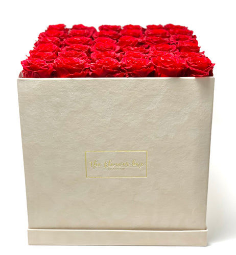 Sand Suede Flower Box