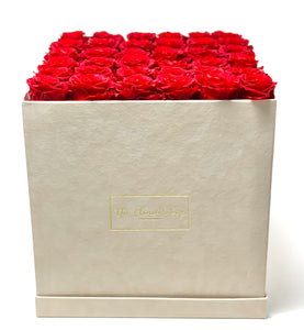 Suede Flower Box