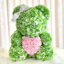 Load image into Gallery viewer, Two Tone Forever Flower Bear