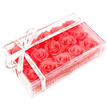 Load image into Gallery viewer, Crystal Flower Box - 18 Roses