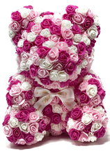 Load image into Gallery viewer, Pretty In Pink Forever Flower Bear