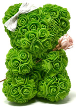 Load image into Gallery viewer, SALE Green Forever Flower Baby Bear