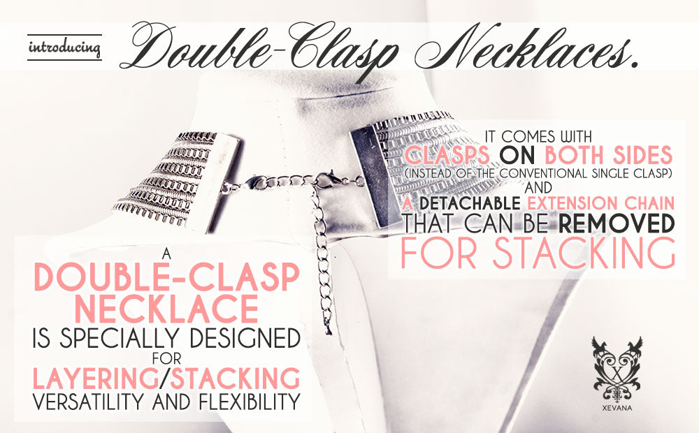 Introducing Double-Clasp Necklaces
