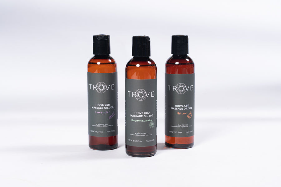 Trove CBD Massage Oil 300