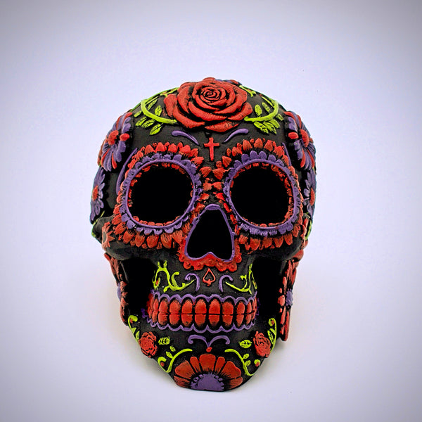 Bloom Design Sugar Skull Sculpture - The Cranio Collections