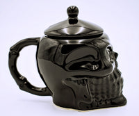 Porcelain Skull Sugar Bowl with Lid - The Cranio Collections
