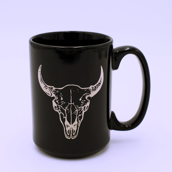 Buffalo Skull Design Coffee Mug - The Cranio Collections