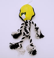 Sugar Skull with Rope Dog Toy - The Cranio Collections