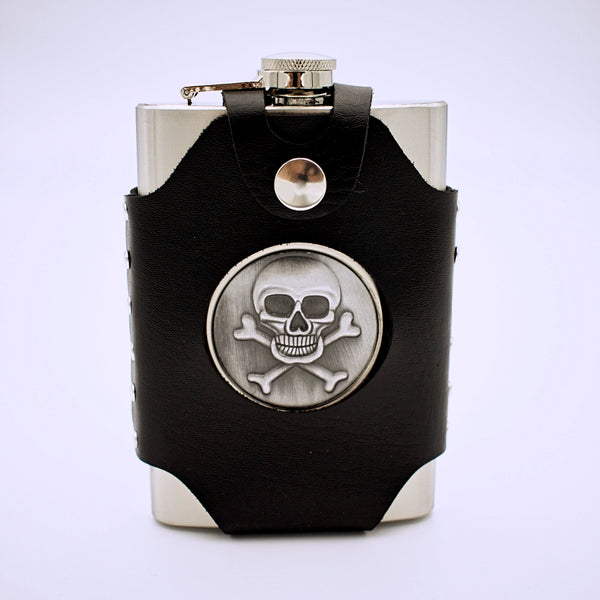Skull and Crossbones Flask - The Cranio Collections