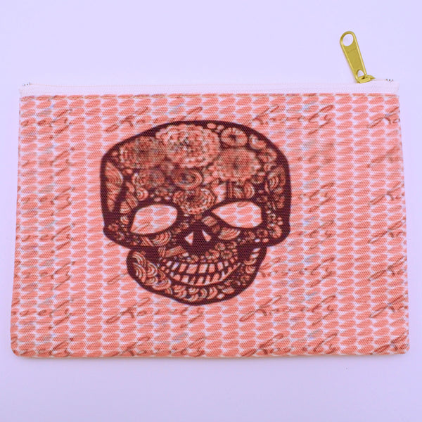 Julia Da Rocha Sugar Skull Pouch - The Cranio Collections