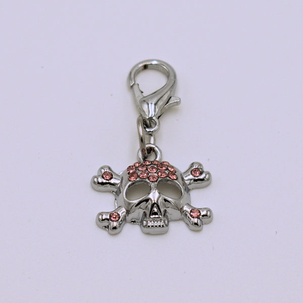 Skull Collar Charm with Lobster Claw Clasp - The Cranio Collections