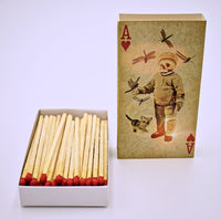 Skull and Aces Matchbox - The Cranio Collections