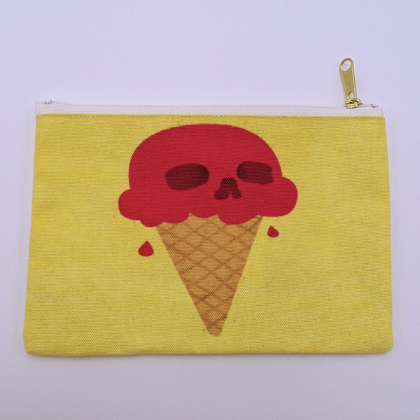 Nick Nelson Skull Ice Cream Scoop Pouch - The Cranio Collections