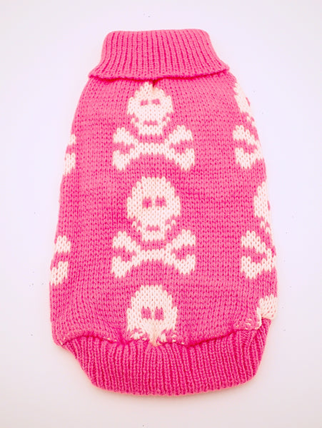 Knitted Skull Sweaters for Small Dogs - The Cranio Collections