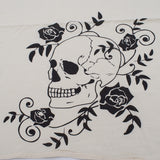 Skull and Flowers Flour Sack Towels-4 pack - The Cranio Collections