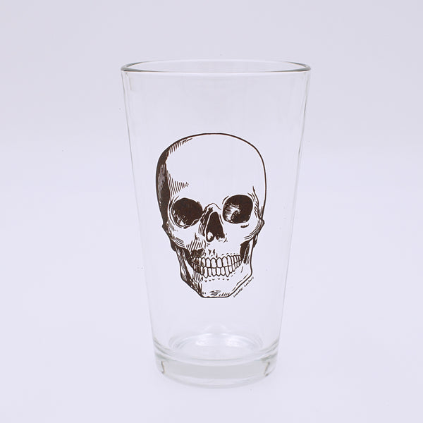 Human Skull Design Pint Glass - The Cranio Collections