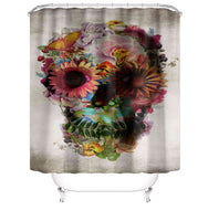 Skull Design Shower Curtains - The Cranio Collections