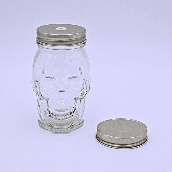 Skull Mason Jars - The Cranio Collections