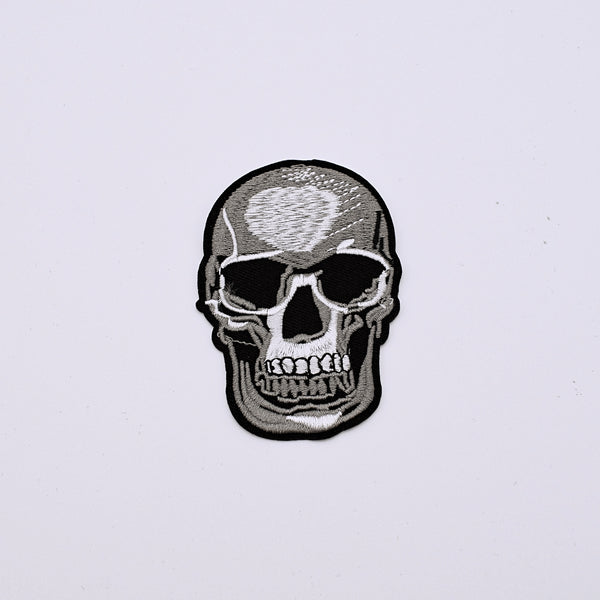 Human Skull Shape Decorative Patch - The Cranio Collections