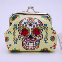 Sugar Skull Coin Purse - The Cranio Collections