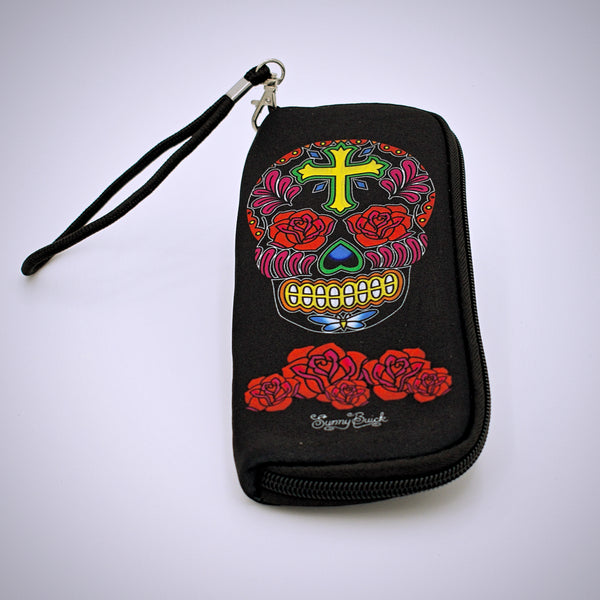 Sunny Buick Design Skull Soft Eyeglass Case - The Cranio Collections