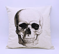 Skull Throw Pillow Cover with Insert - The Cranio Collections