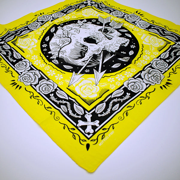 Cotton Skull Design Bandana Handkerchief - The Cranio Collections