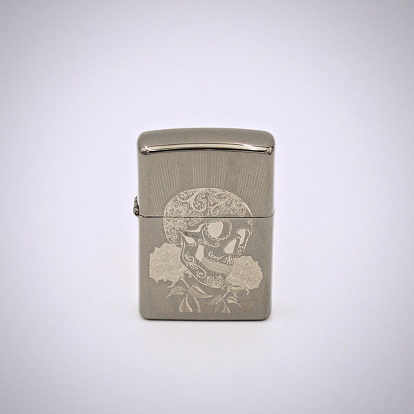 Zippo Skull Design Metal Refillable Lighter - The Cranio Collections