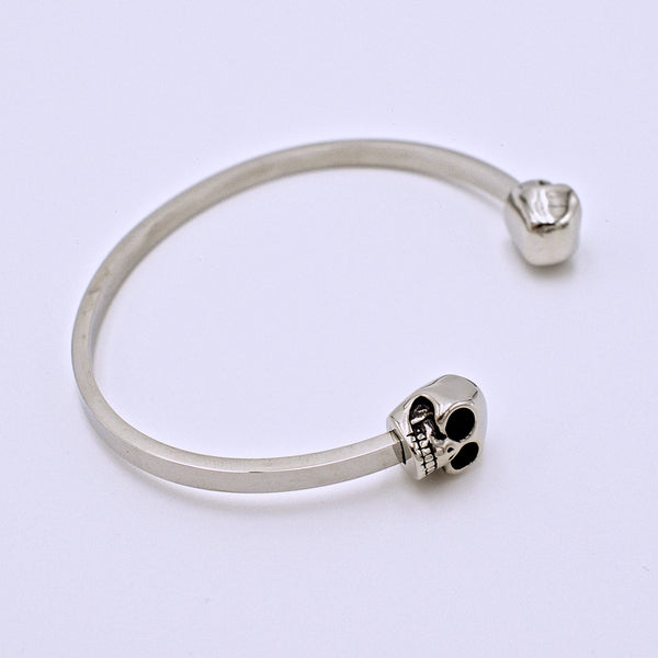 Skull Titanium Bangle - The Cranio Collections