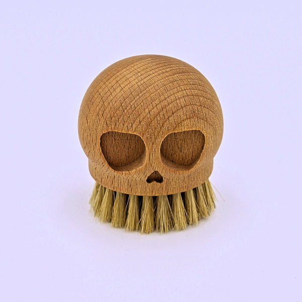 Wooden Skull Brush - The Cranio Collections