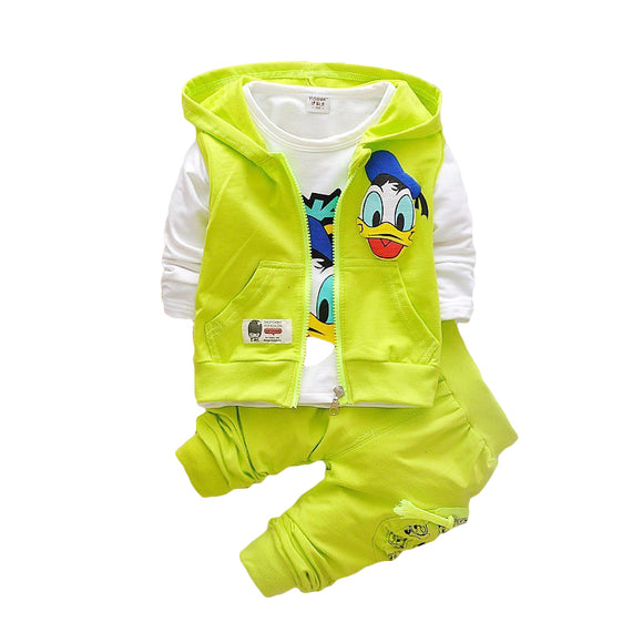 Donald Duck Baby Kids Boys Outerwear Hoodie Jacket