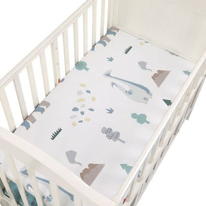 Baby Bedding Crib Fitted Sheet Soft Baby Bed Mattress Cover Protector