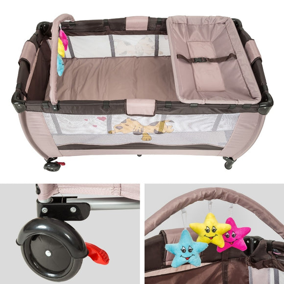 Multi-function Crib Bedding Travel cot portable bed