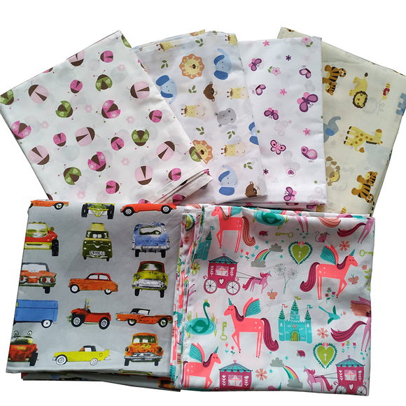 kids and children bed cot bedding flat sheets