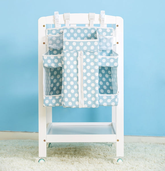 Crib Organizer Large Hanging Storage Toy Diaper Pocket