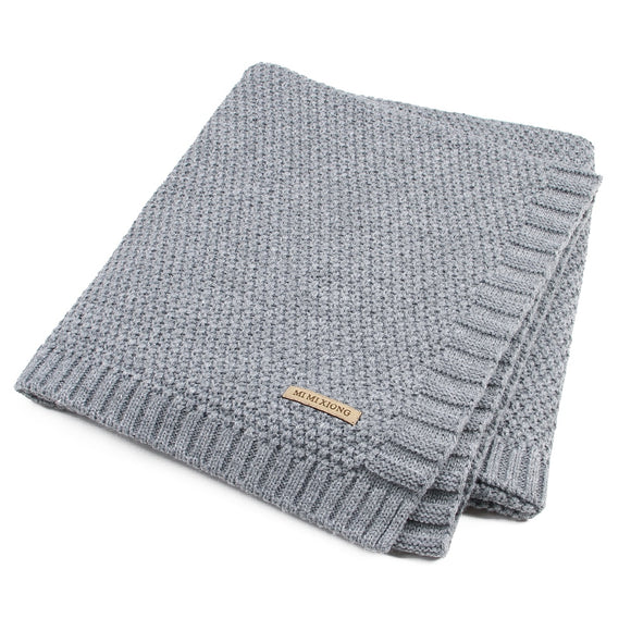 Baby Knitted Newborn Swaddle Wrap Blankets